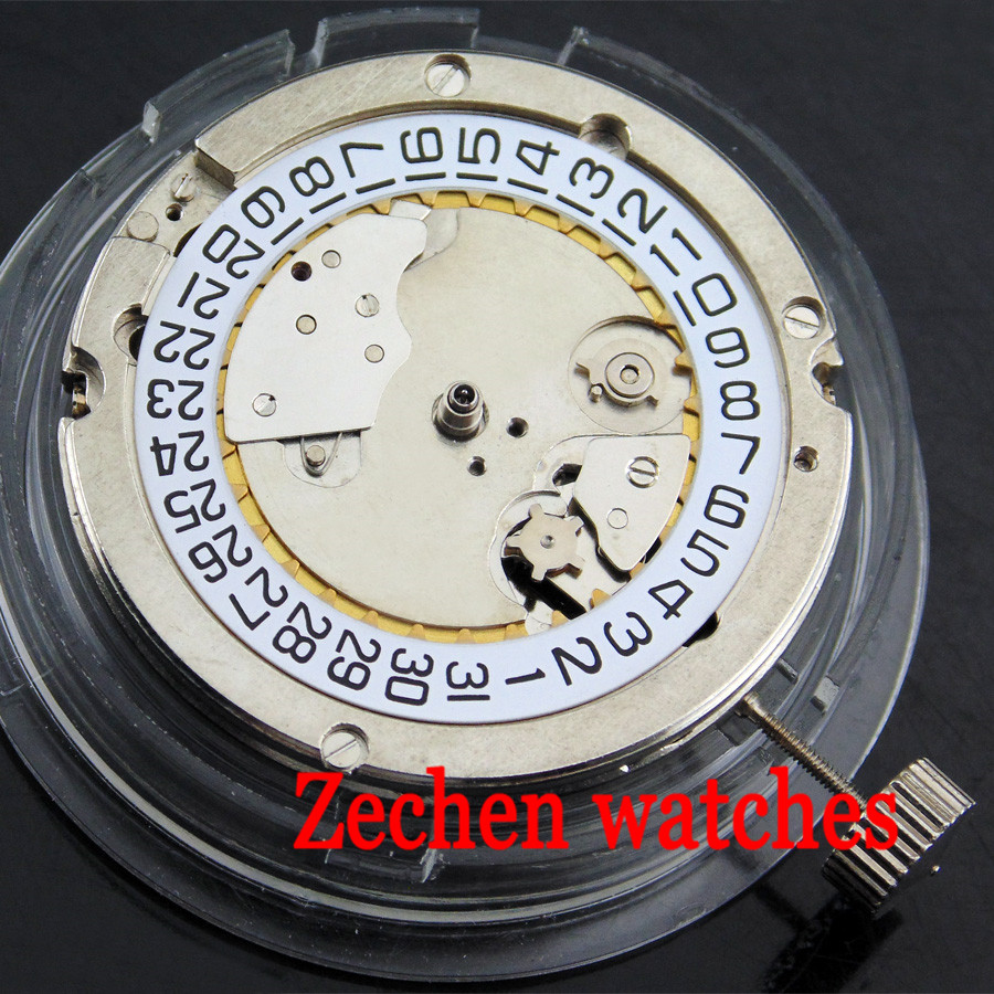 лучшая цена Seagull 2551 Automatic Date Mechanical Movement For Parnis Mens Watch New