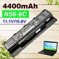 4400 мАч аккумулятор для ноутбука Asus A31-N56 A32-N56 A33-N56 N46 N46V N46VJ N46VM N46VZ N56 N56D N56DP N56V N56VJ