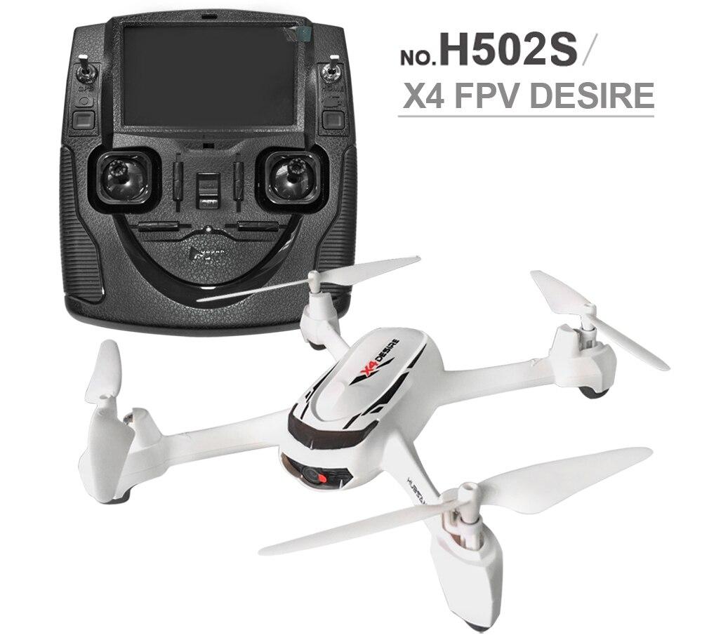 RC Zangão H502S X4 5.8G FPV Hubsan Com Câmera HD 720P GPS Altitude Um Retorno Chave Modo Headless RC Quadcopter Posicionamento Automático