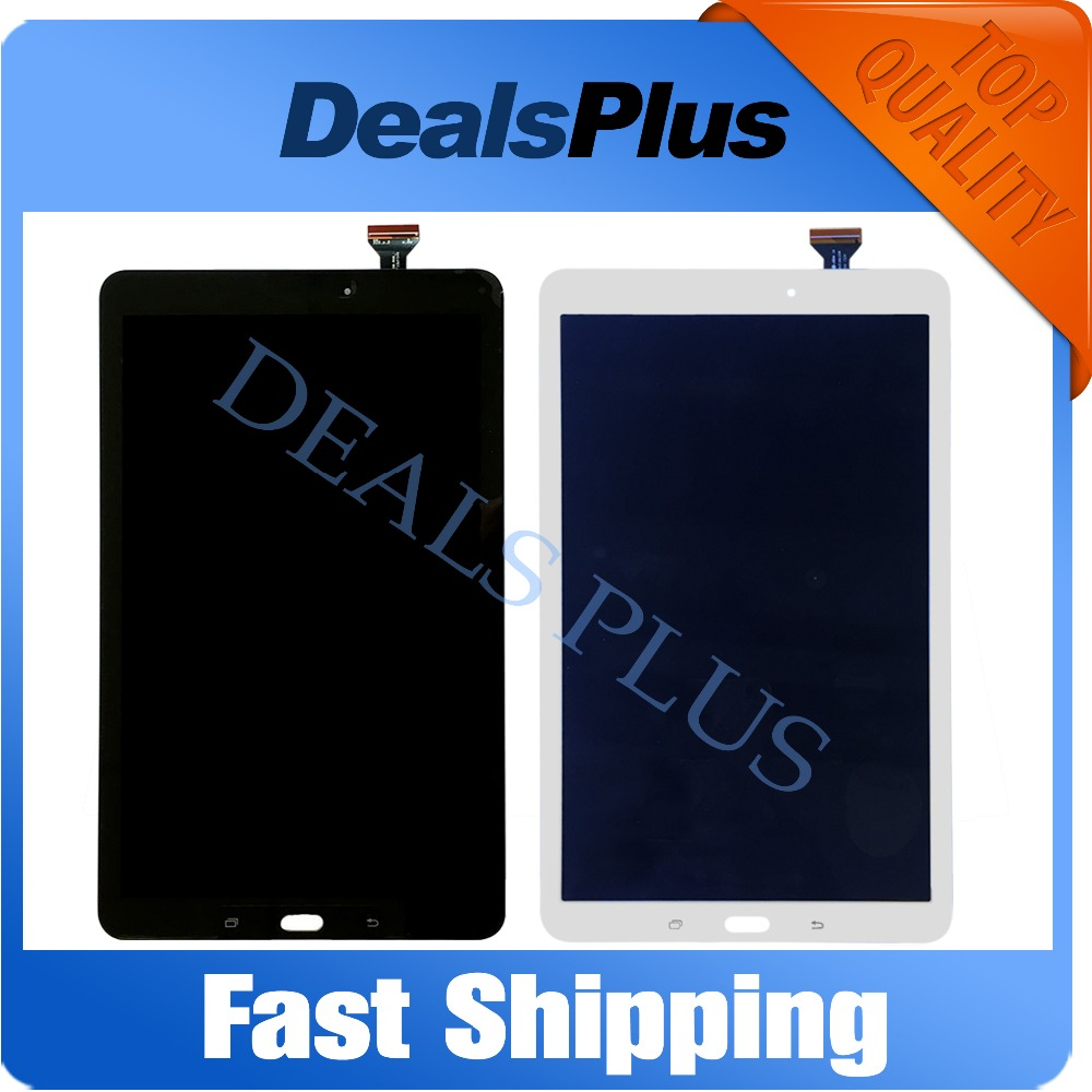 Replacement New LCD Display Touch Screen Assembly For Samsung Galaxy Tab E 9.6 SM-T560 T560 White Black розетка 2 местная с з со шторками hegel master слоновая кость