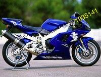 Hot vente, Pour Yamaha YZF R1 1998 - 1999 pièces YZF-R1 YZF1000 98 - 99 R1 bleu Bodyworks ABS moto carénage Set ( moulage par Injection )