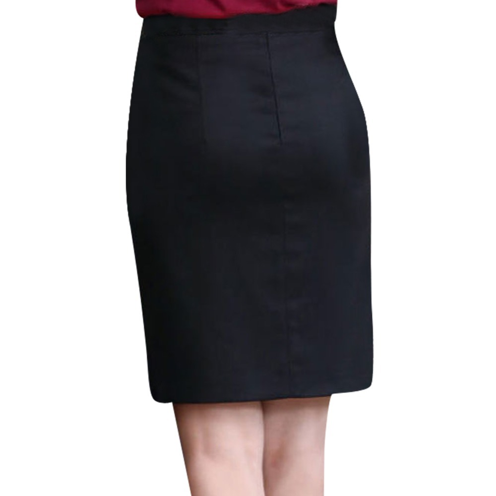 Charm Lady Wrapped Hip Design Formal Skirts Size S 2XL Korean ...