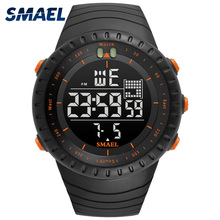 Waterproof Watch Auto-Date SMAEL Chronograph 50-Meters Multifunction Relogio Hot 1237