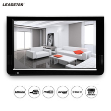 Leadstar 10 Inch DVBT2/ATSC &Analog Mini Led HD TV All In 1 Car TV Support USB TF Card Hd Resolution Built-In Battery Charging mini portable tv free watch tv strong siginal 9 inch h 265 usb hd out support multi language battery wifi mini portable tv