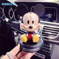 Divertido Lindo Mickey Mouse Asintiendo Coche Sacude Sacudir La Cabeza Muñeca de Simulación Para La Decoración Del Coche Articulos Accesorios de Automóviles