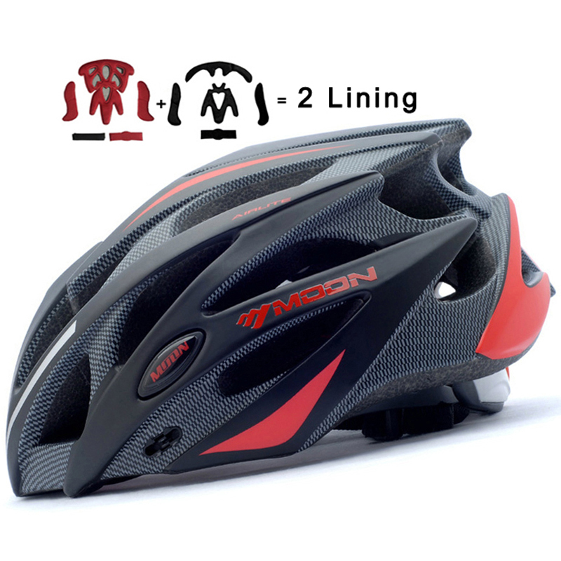 MOON Upgrade Version Cycling Helmet 52-64 CM Bicycle Helmet Ultralight Bike Helmet Road Mountain Helmet цены