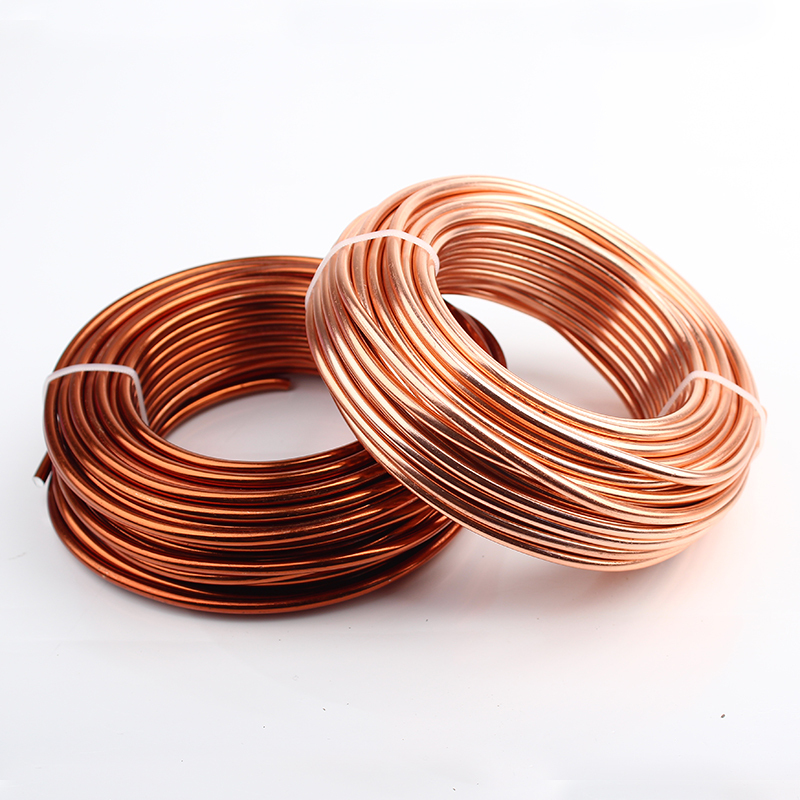 Image 2 - Wholesale 0.5kg 4mm 6 gauge Anodized Artistic Round Aluminum  Craft Wire 15m Bright Gold Silver Colored Jewelry Soft Metal Wirecraft  wiremetal wirealuminum craft wire