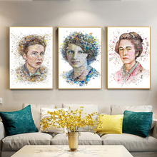 Modern Creative World Famous Female Portrait Posters and Prints Wall Art Canvas Painting Decorative Picture Living Room No Frame