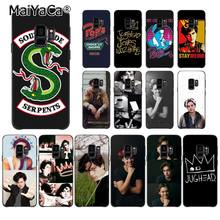 MaiYaCa American TV Riverdale Jughead Jones Crown Soft Phone Case for Samsung Galaxy S7edge S6 edge plus S5 S8 S7 S9 Plus case(China)