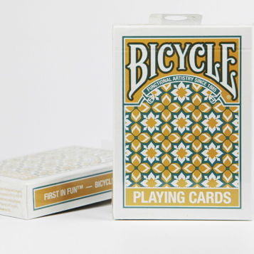 Bicycle Playing Madison Cards bicycle playing cards yellow or green color magic props magic cards