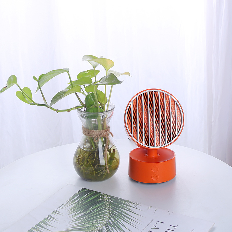 Fashion Mini Intelligent Electric Heater Bedroom Office Small Portable Heater Mute Low Power Consumption Shake Head FunctionFashion Mini Intelligent Electric Heater Bedroom Office Small Portable Heater Mute Low Power Consumption Shake Head Function