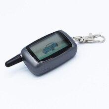 Starline A9 LCD Controle Remoto Chaveiro/Corrente Chave Fob Remoto para a Segurança Do Veículo em Dois Sentidos do Sistema de Alarme de Carro Starline Twage A9