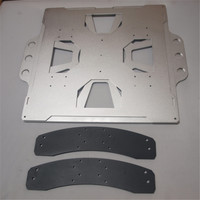 3d принтер алюминиевая карета обновление Выравнивающий поддон для TAZ 4/5 сменный комплект кровати lulzbot TAZ Съемная Сборка кровати Upgrade kit