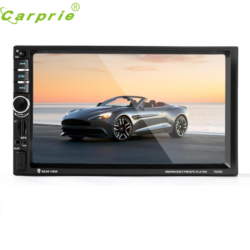New Arrival  7'' HD Bluetooth Touch Screen Car GPS Stereo Radio 2 DIN FM/MP5/MP3/USB/AUX jy11 7 hd bluetooth touch screen car gps stereo radio 2 din fm mp5 mp3 usb aux z825