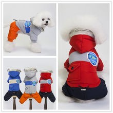 Snow Wind Proof Warm Winter 3 Colors Pet Dog Puppy Jacket Chihuahua Teddy Clothing Dog Clothes Coat For Small Medium Pets Dogs