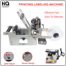 LT-50D Automatic Labeling Machine,drugs bottle,medicine bottle labeling machine with date printer,printing labeling machine