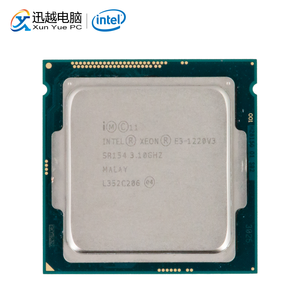 Intel Core E3-1220 <font><b>V3</b></font> Desktop Processor E3 1220 <font><b>V3</b></font> Quad-Core 3.1GHz 8MB L3 Cache LGA 1150 Server Used <font><b>CPU</b></font> image
