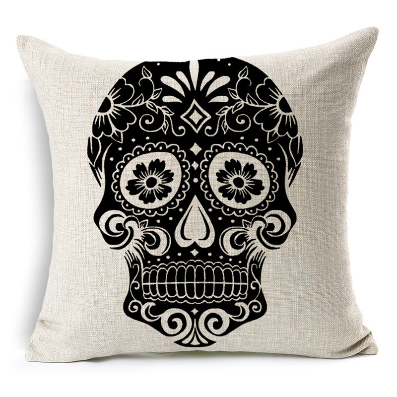 Customized Skull Ocean Cushion Pillow Covers  1