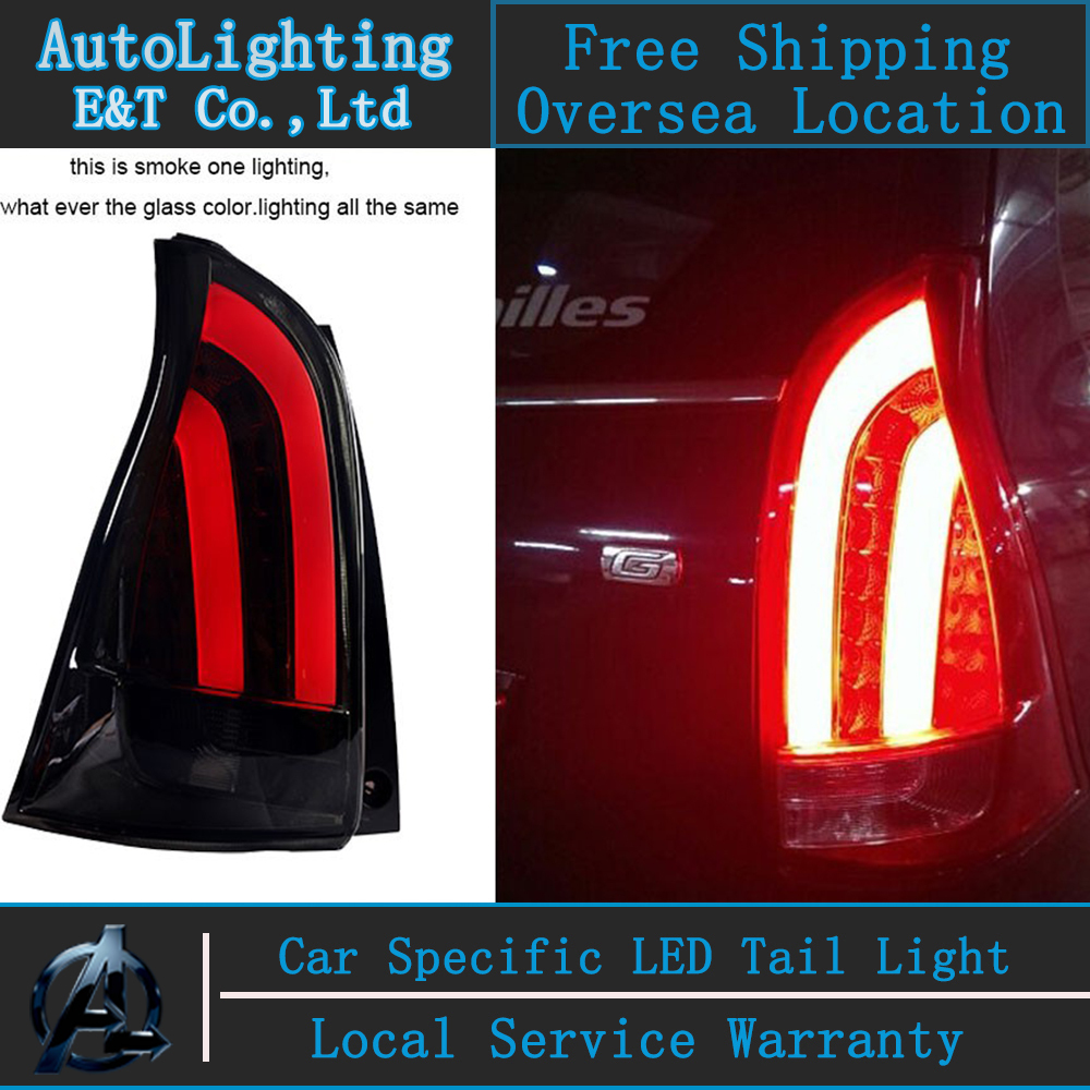 Auto Lighting Style LED Tail Lamp for Toyota Avanza tail lights 2012-2013 rear trunk lamp cover drl+signal+brake+reverse