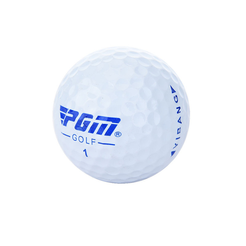 PGM 3PCS Practice Golf Ball Double Layer Long Life Golf Game Ball Outdoor Soft Durable Cover Golf Balls Long Distance