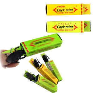 Shocking Toy Gadget Trick Cockroach Gag Gifts Joke-Chewing-Gum Prank Novelty Funny Farce