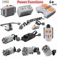 Power Functions 8879 88003 Technic Motor Series Battery Box IR Remote Control Signal Receiver Motors LED Light