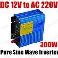 Best selling venda quente potência do inversor de onda senoidal pura 300 W inversor DC 12 V para AC 220 V 300 watts 50 HZ