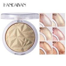 Professional  New Makeup Face Powder 6 Colors Highlighter Contour highlighter