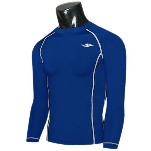 3 Farbe Wolke Marke Mens Compression T-Shirts Base Layers Langarm - Herrenbekleidung - Foto 2