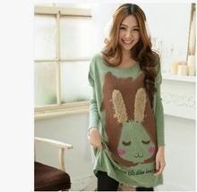 2017 recién llegado de suéter de otoño invierno las mujeres embarazadas de maternidad de manga larga de punto suéter SH-8101JYF