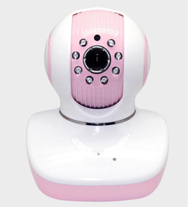 Phone camera remote monitoring Mobile network HD baby monitor