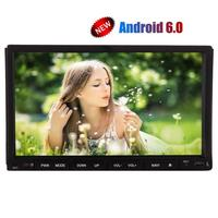 Android Stereo 7inch Sliding Capacitive Screen Headunit Din GPS Navigation Wifi Supports 4g 3g Mirror Link