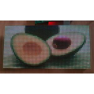 Image 1 - Free shipping RGB led matrix led module p4 , hub75  smd2020 smd2121 indoor ph4 led screen module 32x64