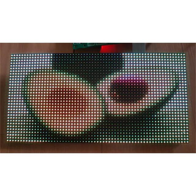 Free shipping RGB led matrix led module p4 , hub75  smd2020 smd2121 indoor ph4 led screen module 32x64