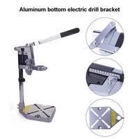 Podwójna głowica uchwyt trzyma Dremel wiertarka elektryczna szlifierka stojak zacisk akcesoria do narzędzi do obróbki drewna w Zestawy narzędzi ręcznych od Narzędzia na
