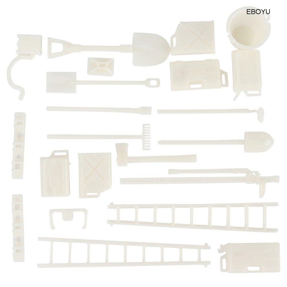 EBOYU Spare Parts DIY Decorative Pieces for WPL B14 B16 B24 B36 C24 C14 2 4G