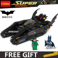 DECOOL Batman Bruce Wayne Tumbler 7787 BAT TANK THE RIDDLER THE DARK KNIGHT Assemble Minifig Building