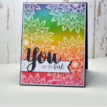 YaMinSanNiO You Letter Dies Metal Cutting Die for Card Making New 2019 Scrapbooking