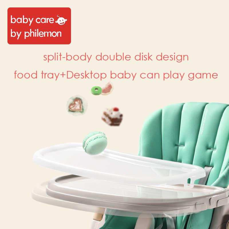 Специализация детский стульчик Регулируемая Складная складной малыш обеденный стол стул пяти точечный ремень безопасности для стульчик для кормления
