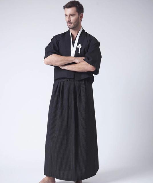 Men's Traditional Japanese Cotton Kimono