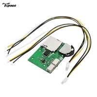 Darmowa Wysyłka DIY Micro Moduł DVR MAGNETOWIDU Mini Kamera Video Recorder Wsparcie Odtwarzania SD Card Record Dla FPV Monitora
