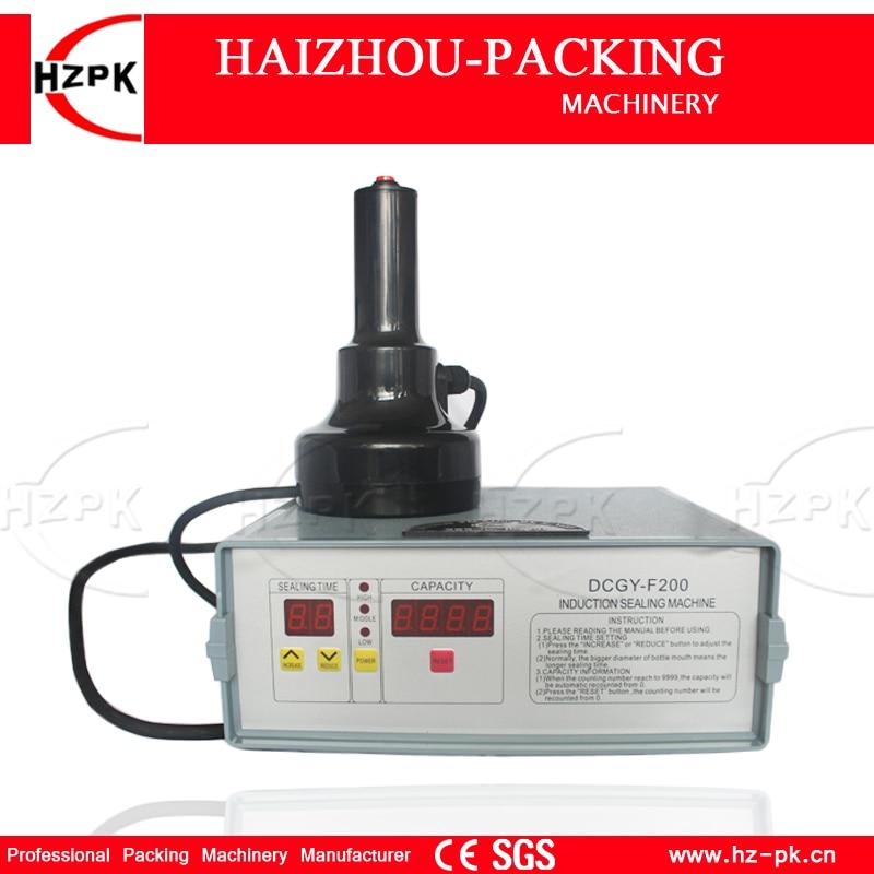 HZPK Hand held Bottle Mouth Aluminium capping machine Induction Sealing machine For Medical Plastic Bottle Cap