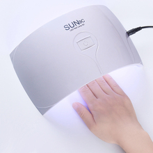 1 Pc 24W White LED UV Lamp Nail Dryer Arc Shape UV Gel Polish Lamp Dryer Nail for Curing UV Gel LED Gel Manicure Nail Art Lamp