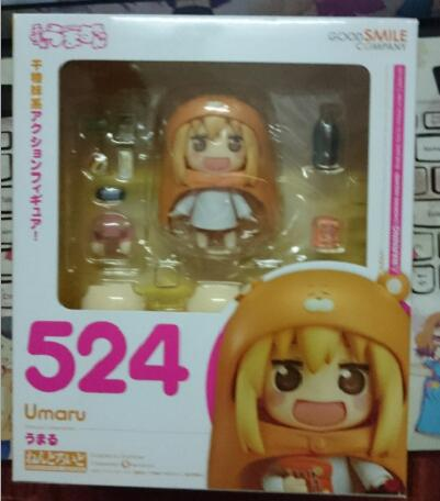 10cm Himouto Umaru-chan Nendoroid Umaru #524 Anime Action Figure PVC toys Collection figures for friends gifts 32