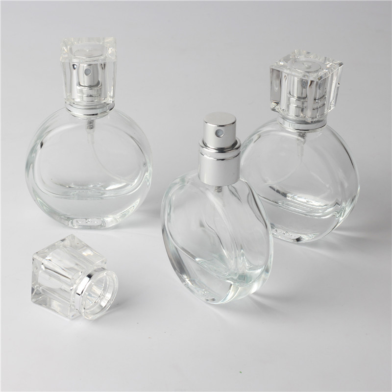 цена на 1pcs 20ml Clear Glass Empty Perfume Bottles Atomizer Spray Refillable Bottle Spray Scent Case with Travel Size Portable Funnel