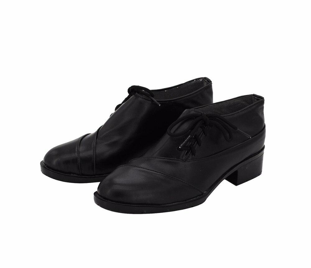 Vampire Knight Clan Kaname Cosplay chaussures bottes noires sur mesure toutes tailles - 3