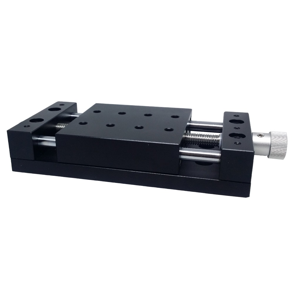 40mm/80mmX Axis Manual Linear Stage translation stage Manual displacment station, linear station,sliding platform PT-S40/80 цена