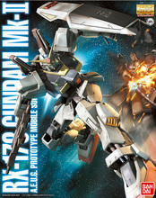 Bandai Gundam MG 1/100 Mk II RX 178 Mk 2 Mobile Anzug Montieren Modell Kits Action figuren kinder spielzeug
