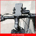 Bicycle Bike Smart Phone Handlebar Mount Holder Stand Motorcycle Cell Phone Holder Cradle for 4 inch to 6 inch Cell Phones
