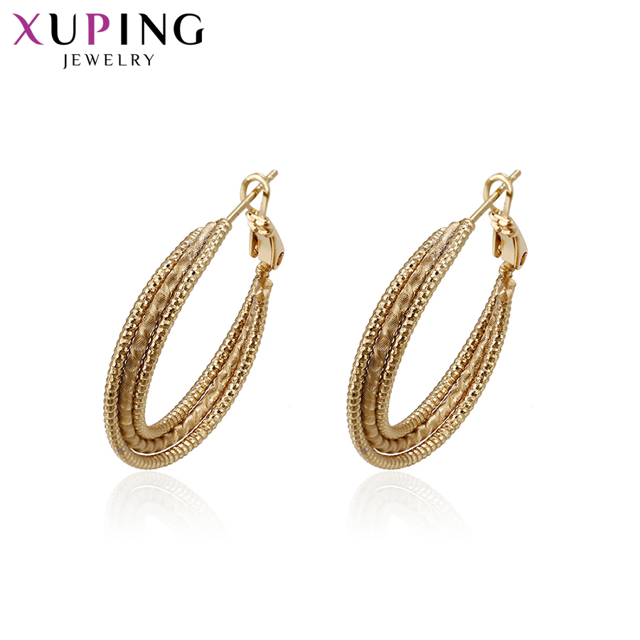 11.11 Deals Xuping Jewelry Fashion Earrings With Environmental Copper for Women Christmas Day Gift S59-93427